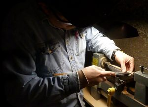 woodturning a spindle