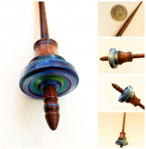 Tibetan Spindle with Gradient Dye
